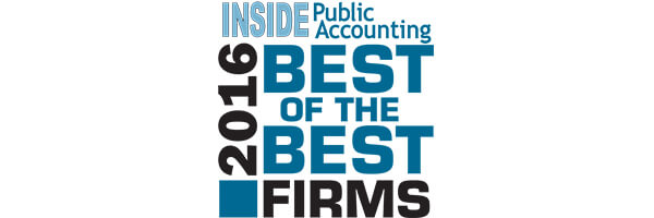 Lutz Named Inside Public Accounting Best Of The Best Firm