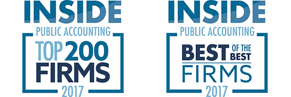 Lutz Named INSIDE Public Accounting Best of the Best and Top 200 Firm