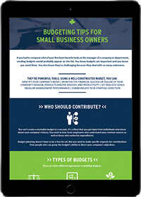 Budgeting tips for small business owners