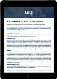 How to enhance the value of your business