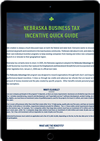 Nebraska business tax incentives