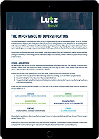 The Importance of Diversification