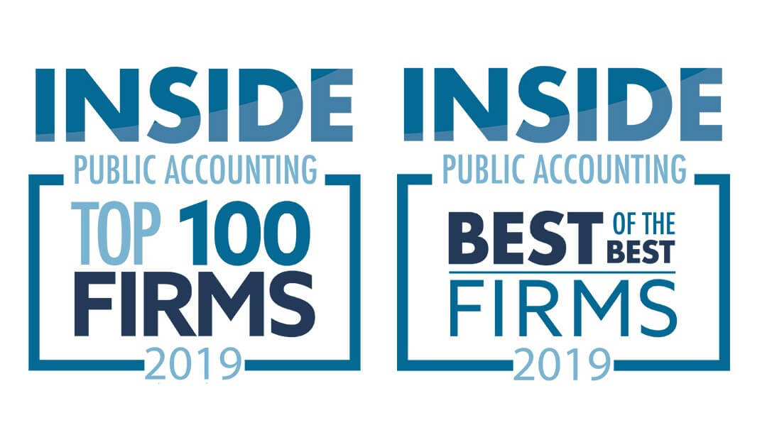 "Lutz Named a ""Top 100 Firm"" and ""Best of the Best"" by INSIDE Public Accounting"