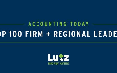 Lutz Named a 2020 Top 100 Firm and Regional Leader by Accounting Today