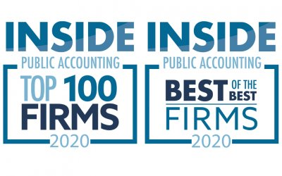 "Lutz Named a 2020 ""Top 100 Firm"" and ""Best of the Best"" by INSIDE Public Accounting"